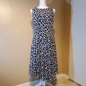 Black & Gray Liz Claiborne Dress